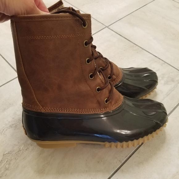 Womens Size 7 Sporto Dakota Rain Boot